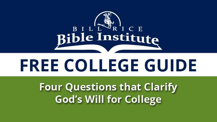 College Guide - Bill Rice Bible Institute